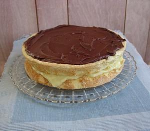 New England Recipes Boston Cream Pie