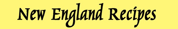 New Egnland Recipes Masthead II