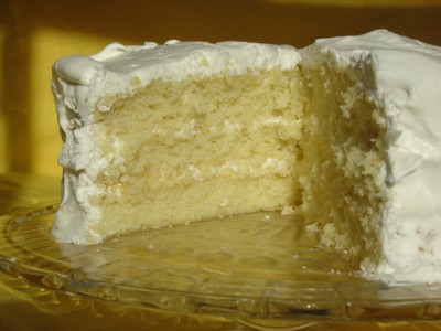 White Mountain Layer Cake